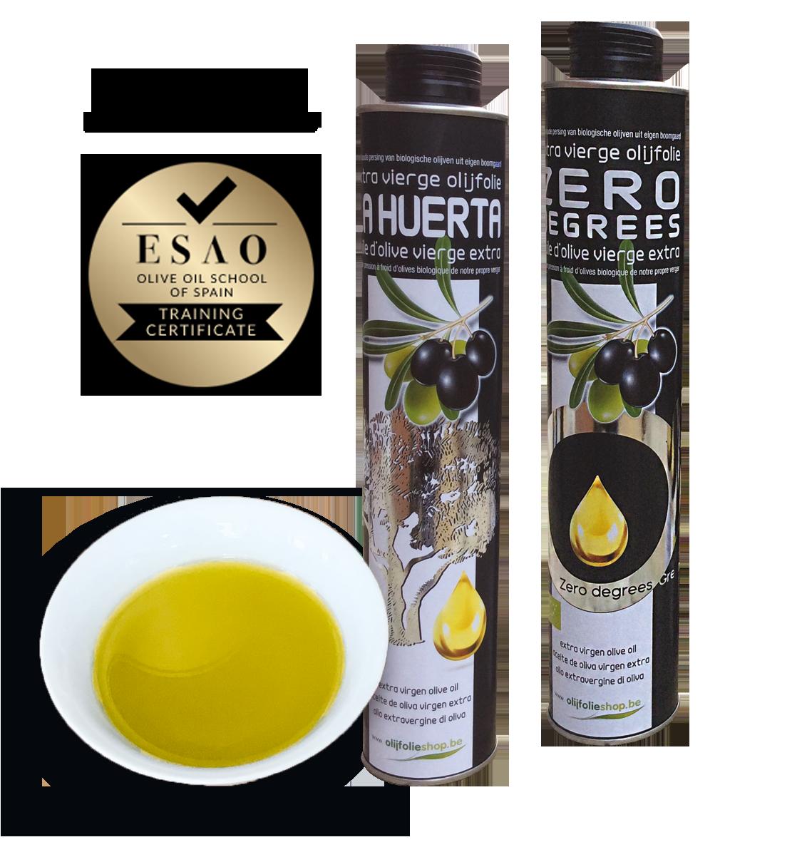 Spaanse olijfolie - olijfolie extra vierge uit eigen boomgaard