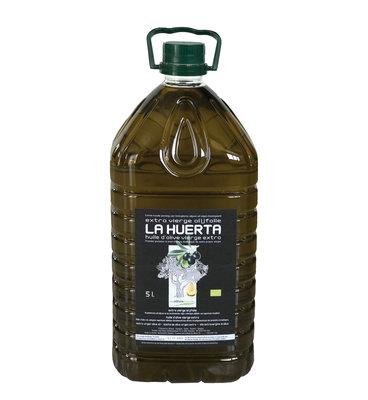Olive oil extra virgen LA HUERTA - 5 liter bidon